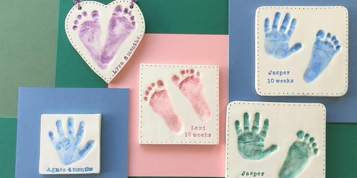 Babytoddler Clay Imprint Session