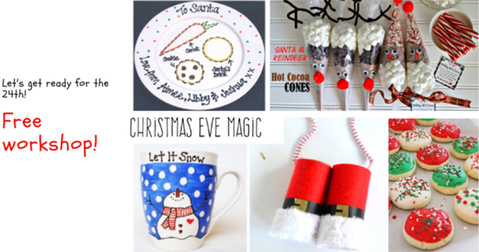 Christmas Eve Magic Free Workshop at Castlepoint