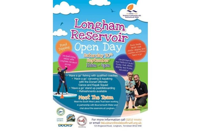 Longham Reservoir Open Day