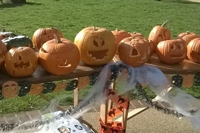 Pumpkin Parade at Upton Country Park