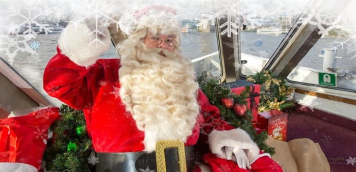 Sail with Santa with City Cruises