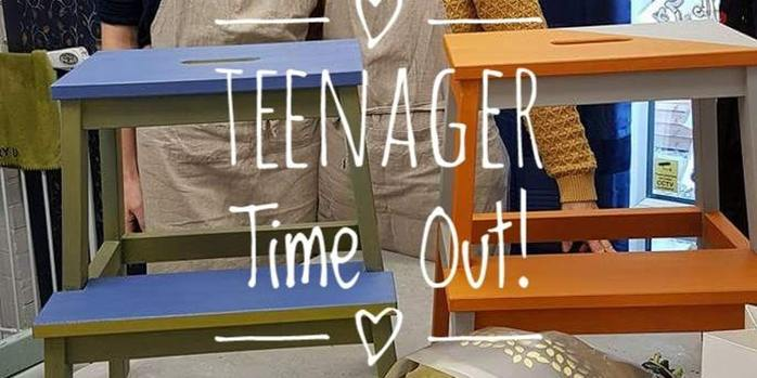Teenager Time Out- Creative Furniture Painting