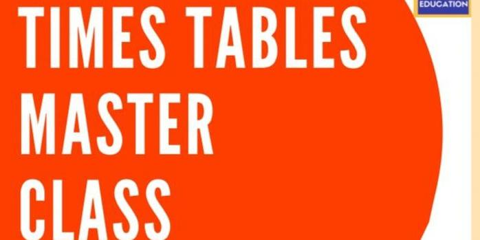 Times Tables Master Class for Children